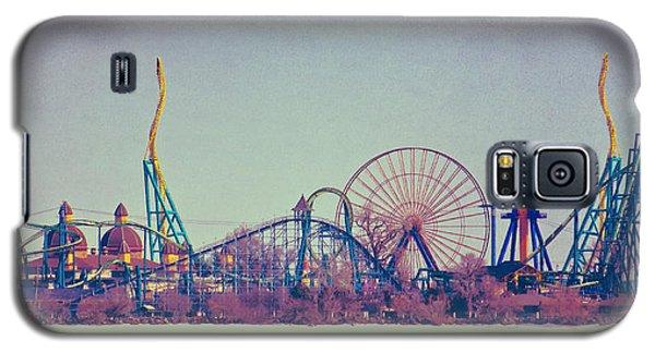 Cedar Point Skyline Galaxy S5 Case by Shawna Rowe