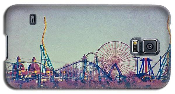 Cedar Point Skyline Galaxy S5 Case