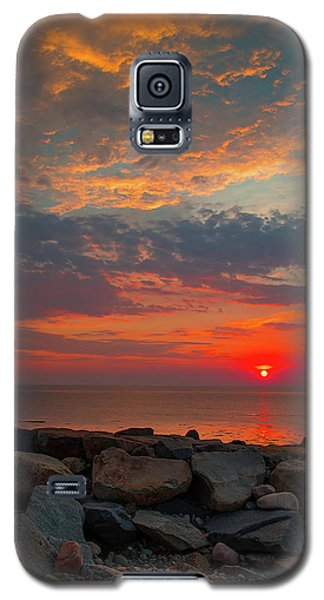 Cedar Point Sunrise Galaxy S5 Case