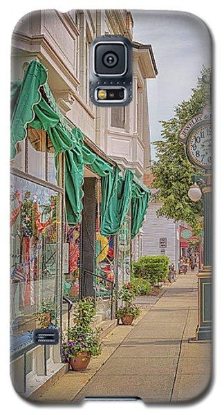 Cedarburg Street Clock Galaxy S5 Case