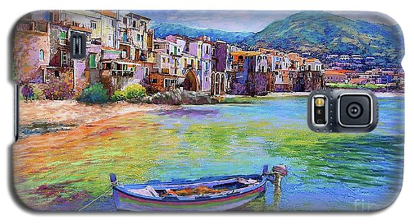 Town Galaxy S5 Case - Cefalu Sicily Italy by Jane Small