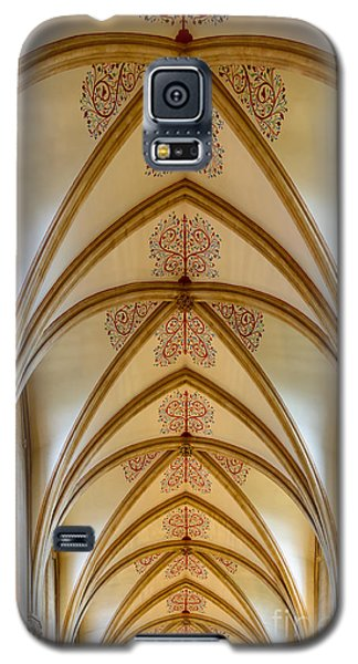 Ceiling, Wells Cathedral. Galaxy S5 Case