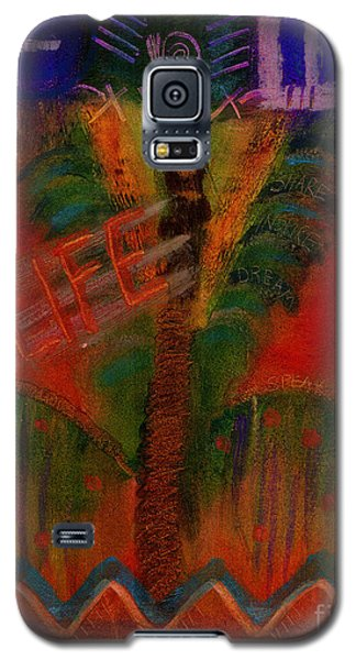 Galaxy S5 Case featuring the painting Celebrate Life by Angela L Walker