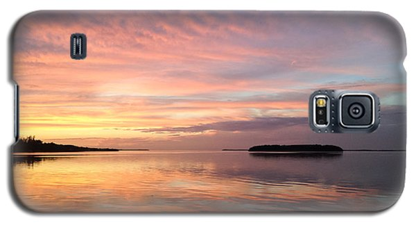 Celebrating Sunset In Key Largo Galaxy S5 Case