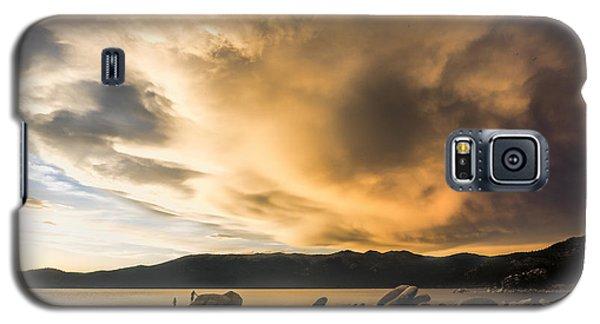 Celebrating Sunset Galaxy S5 Case