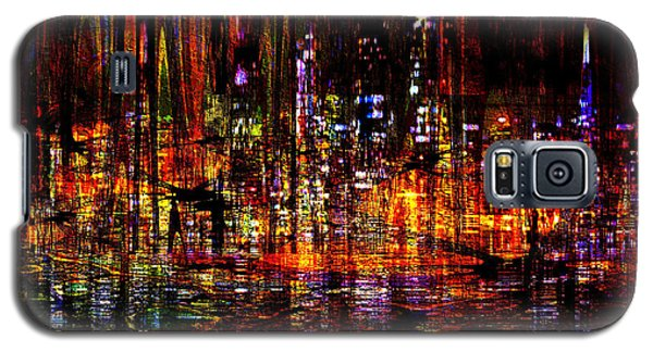 Celebration In The City Galaxy S5 Case