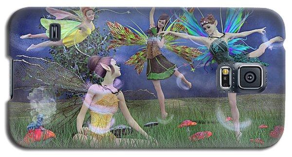 Celebration Of Night Alice And Oz Galaxy S5 Case