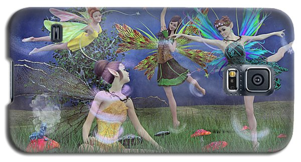 Elf Galaxy S5 Case - Celebration Of Night Alice And Oz by Betsy Knapp