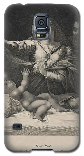 Celebrity Etchings - North Kim And Kanye Galaxy S5 Case by Serge Averbukh
