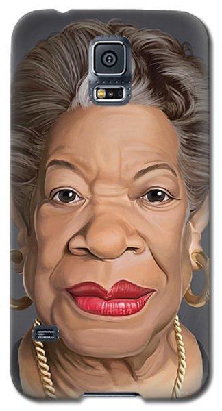 Celebrity Sunday - Maya Angelou Galaxy S5 Case