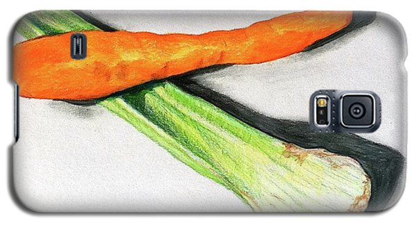 Celery And Carrot Together Galaxy S5 Case