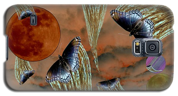 Celestial Butterflies Galaxy S5 Case