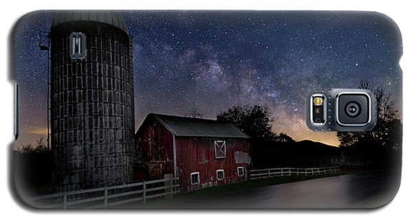 Galaxy S5 Case featuring the photograph Celestial Farm by Bill Wakeley