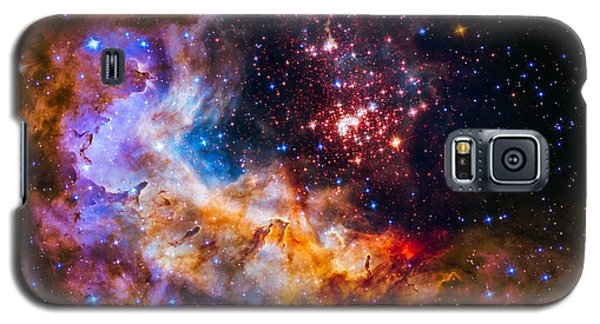 Celestial Fireworks Galaxy S5 Case by Marco Oliveira