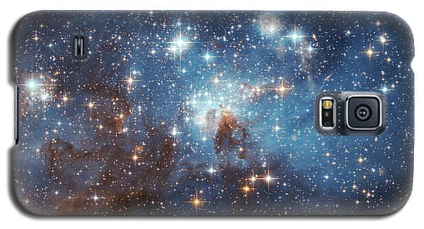 Galaxy S5 Case featuring the photograph Celestial Season's Greetings From Hubble by Nasa