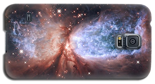 Celestial Snow Angel Galaxy S5 Case