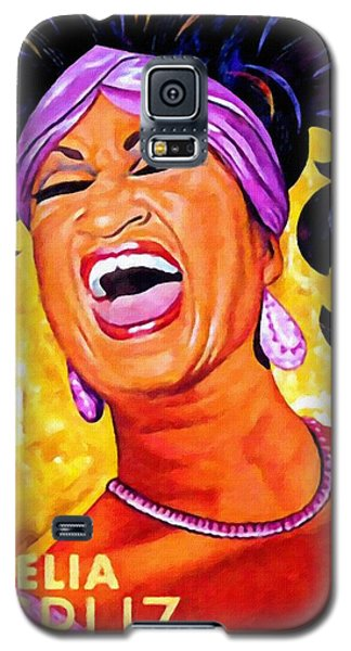 Celia Cruz Galaxy S5 Case