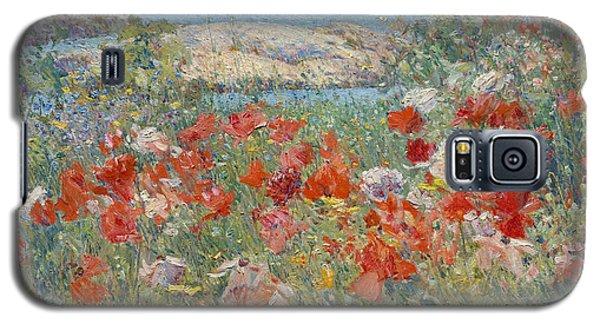 Celia Thaxter's Garden, Isles Of Shoals, Maine Galaxy S5 Case