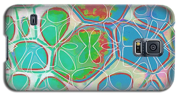 Cell Abstract 10 Galaxy S5 Case by Edward Fielding
