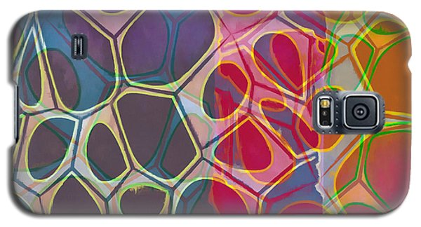 Cell Abstract 11 Galaxy S5 Case by Edward Fielding