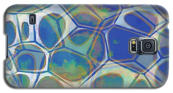 Cell Abstract 13 Galaxy S5 Case by Edward Fielding