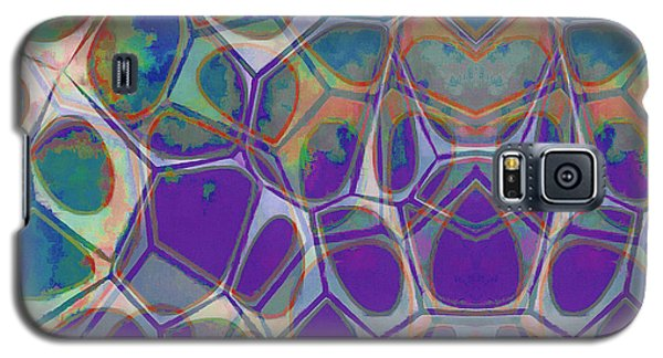 Cell Abstract 17 Galaxy S5 Case by Edward Fielding