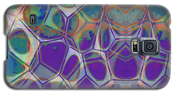 Cell Abstract 17 Galaxy S5 Case