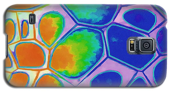 Cell Abstract 2 Galaxy S5 Case by Edward Fielding