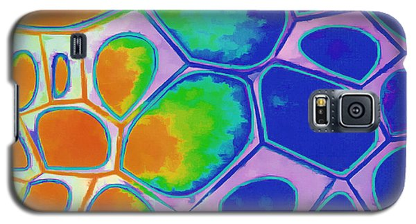 Detail Galaxy S5 Case - Cell Abstract 2 by Edward Fielding