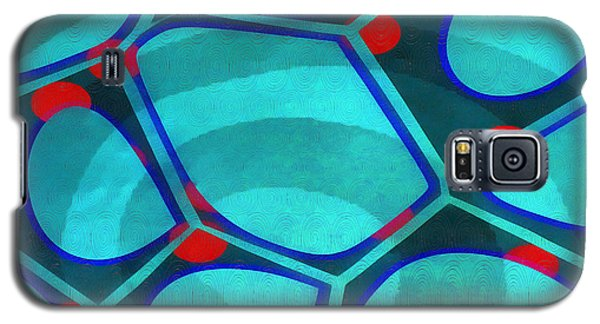 Cell Abstract 6a Galaxy S5 Case by Edward Fielding