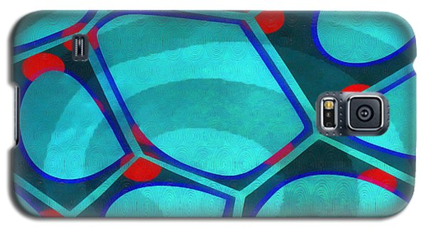 Cell Abstract 6a Galaxy S5 Case