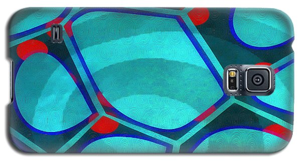 Detail Galaxy S5 Case - Cell Abstract 6a by Edward Fielding