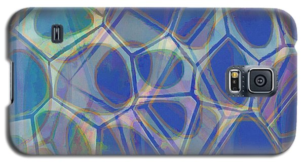 Cell Abstract One Galaxy S5 Case by Edward Fielding