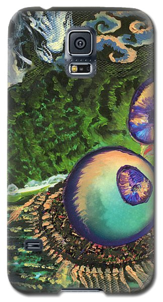 Cell Interior Microbiology Landscapes Series Galaxy S5 Case