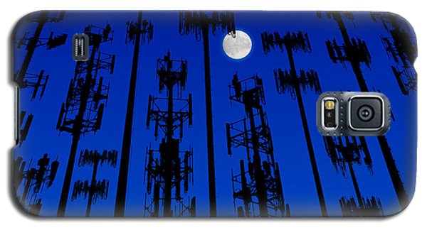 Cellphone Tower Forrest Galaxy S5 Case