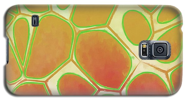 Cells Abstract Five Galaxy S5 Case by Edward Fielding