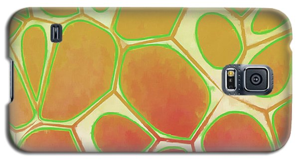 Cells Abstract Five Galaxy S5 Case