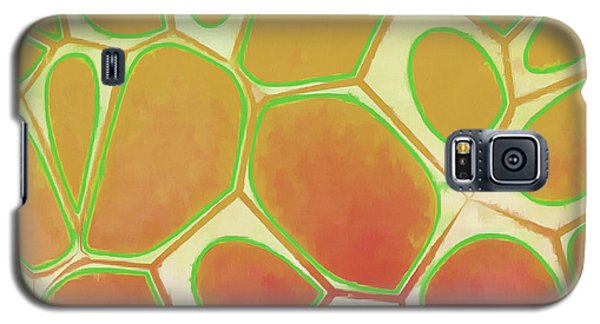 Detail Galaxy S5 Case - Cells Abstract Five by Edward Fielding