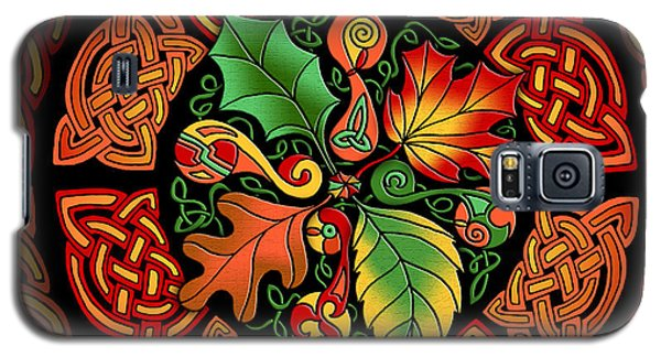Celtic Autumn Leaves Galaxy S5 Case
