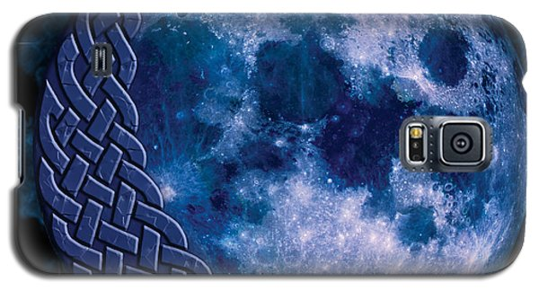 Celtic Blue Moon Galaxy S5 Case