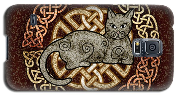 Celtic Cat Galaxy S5 Case