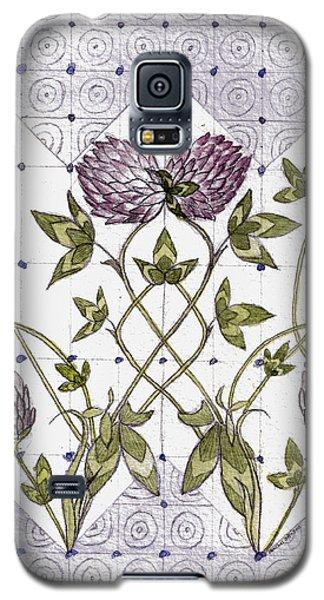 Celtic Clover Galaxy S5 Case
