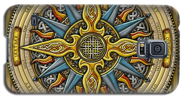 Celtic Compass Galaxy S5 Case by Kristen Fox