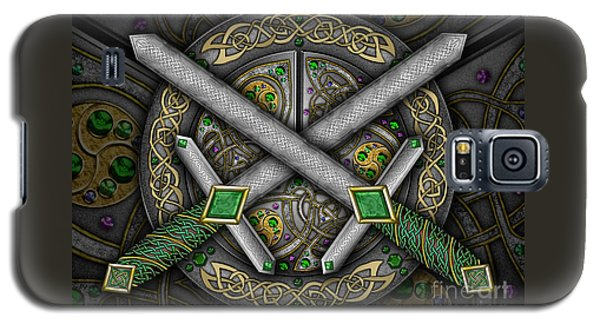 Celtic Daggers Galaxy S5 Case by Kristen Fox