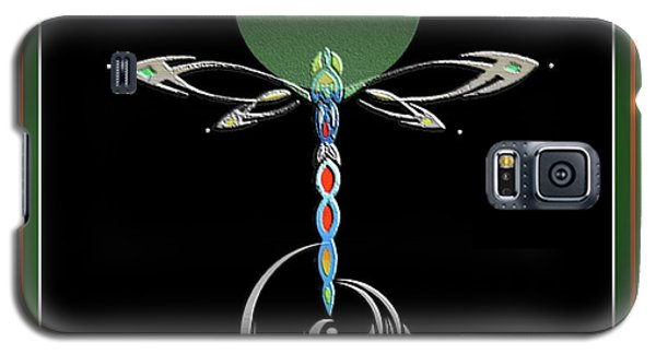 Celtic Dragonfly Galaxy S5 Case
