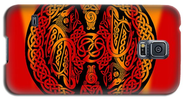 Celtic Dragons Fire Galaxy S5 Case