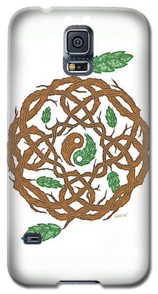 Celtic Nature Yin Yang Galaxy S5 Case