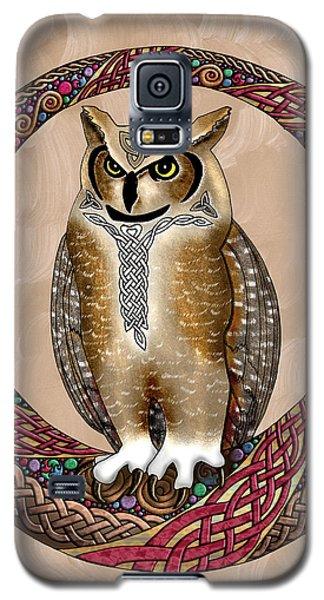 Celtic Owl Galaxy S5 Case by Kristen Fox