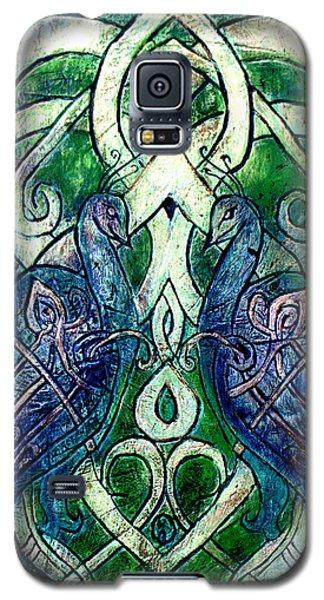 Celtic Peacocks Galaxy S5 Case