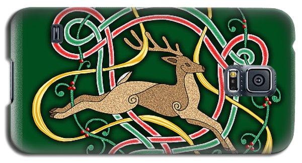 Celtic Reindeer Knots Galaxy S5 Case
